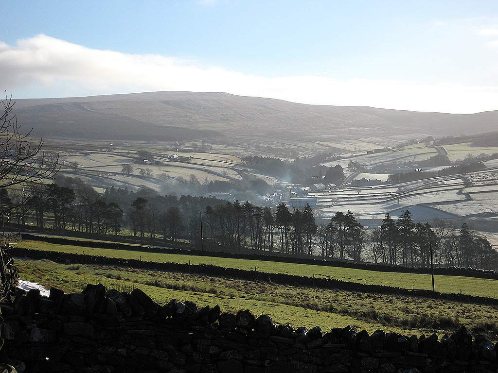 Garrigill in January